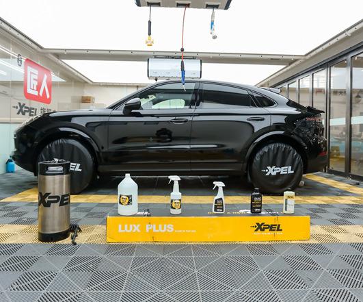 保时捷2019黑色卡宴Coupe XPEL隐形车衣